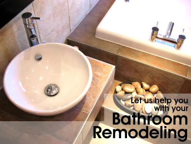 let us help with your bathroom remodeling