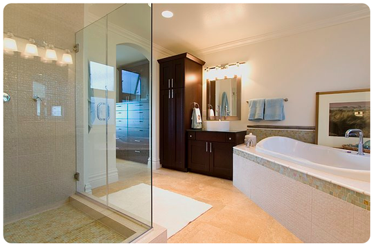 Shower remodeling austin tx bkr pros find local for Bathroom contractors in my area